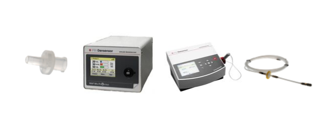 Gas analyzers in food packages