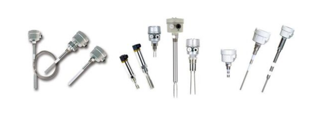 Level switches for solid application