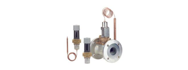 Thermostatically operated valves
