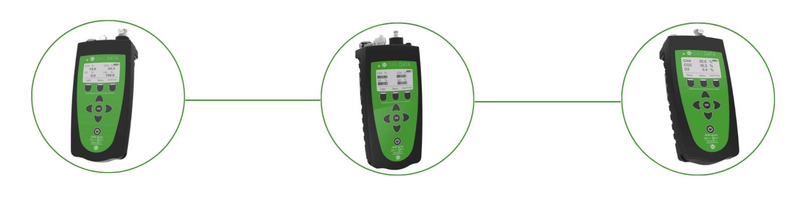 Portable biogas analyzers